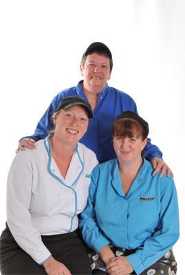Catering Team: Mrs H Jowitt, Mrs S Wilson, Mrs S Payne