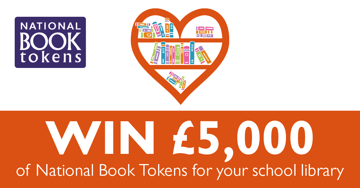 Help us to win £5000 of books!