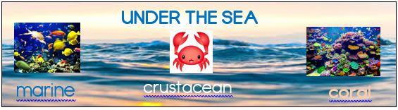 Under The Sea bookmark