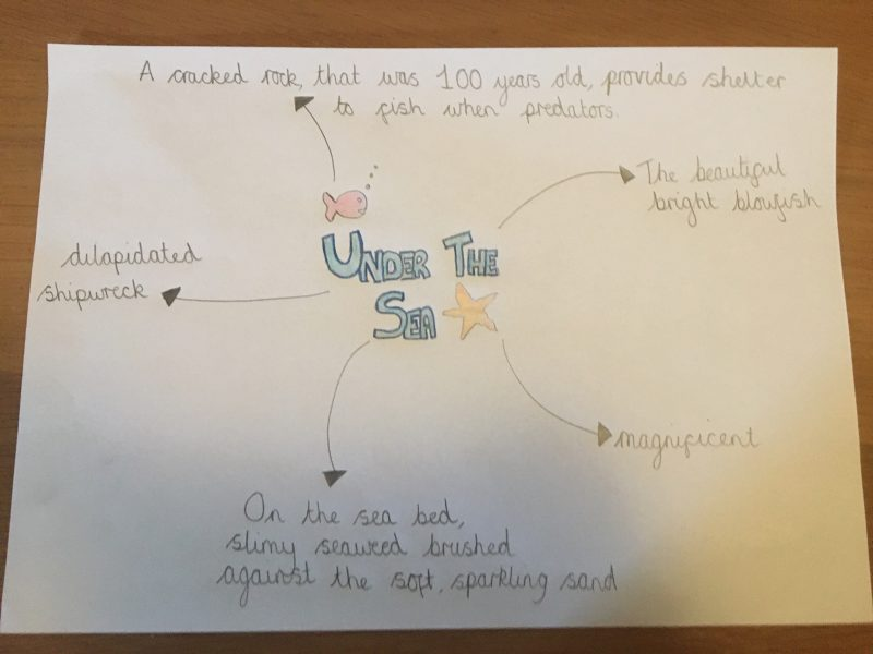 under the sea mindmap